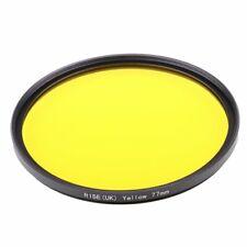 77mm Full Yellow Color Lens Filter Wit Thread Mount For all DSLR SLR Camera Lens