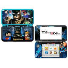 Batman Super Heroes - Nintendo 2DS XL Skin Decal Sticker Vinyl Wrap