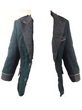 Harris Tweed Blazer Jacket Horse Hacking 34 S 34s Green Rare