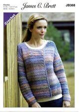 Crochet Chunky Cardigans Patterns