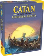 CATAN EXPLORERS AND PIRATES 5 AND 6 PLAYER EXTENSION CARD GAME