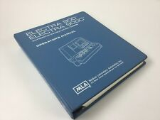 Medical Laboratory Operators Manual for Electra 900 and 900C