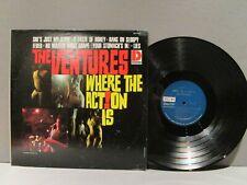 VENTURES Where the Action is Dolton 2040 D/G Vinyl Lp Record VG++