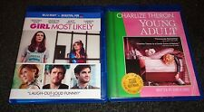 GIRL MOST LIKELY & YOUNG ADULT-2 movies-KRISTEN WIIG,MATT DILLON,CHARLIZE THERON