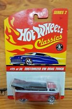 Hot Wheels 2006 Classics Series 2 #25 CUSTOMIZED VW DRAG TRUCK Orange (A+/A-)