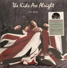 The Who The Kids Are Alright 2LP RED and BLUE Coloured RSD 2018 Sigillato Raro