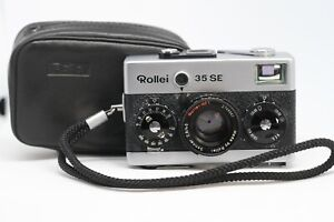 Rollei 35 SE - Excellent Condition - With Case and Strap -