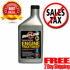 BestLine 853796001049 Engine Oil Synthetic Treatment Gasoline 16 OZ 2Day Ship