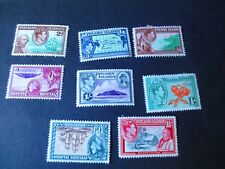 Pitcairn Islands #1-8 Mint Hinged- WDWPhilatelic