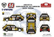 [FFSMC Productions] Decals 1/32 Lancia Delta S4 Grifone Esso #7 Sanremo 86 rally
