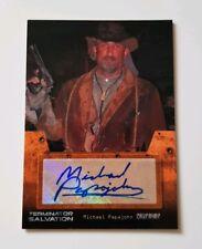 Topps Terminator Salvation Autograph Card Michael Papajohn