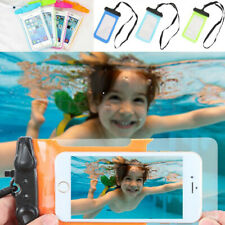 Universal Phone Pouch Underwater Swiming Drift Waterproof Bag Dry Case Cover #A