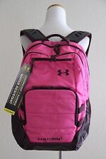 Under Armour UA Storm Camden Backpack Style # 1261826, Black / Pink