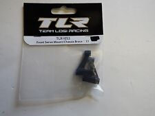 Tlr Team Losi Racing - Front Servo Mount / Chassis Brace : 22 - Model # Tlr1053