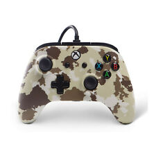 Enhanced Wired Controller for Xbox One – Sandstorm Camo