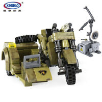 Bausteine XingBao Military Series Motorrad Modell Geschenke Gebäude Spielzeug 25