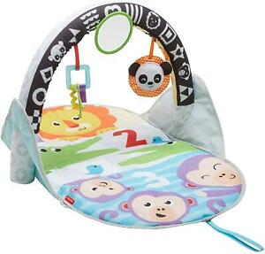 Fisher Price 2-in-1 Flip and Fun Activity Gym Baby Play Mat 0 - 6 Months