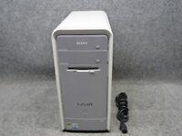Sony VAIO PCV-2232 Tower PC Intel Pentium 4 2.80GHz 1GB RAM 250GB HDD CD-RW/DVD