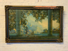 Antique House of Art NY Art Deco Maxfield Parrish Daybreak Lithograph Print