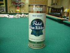 Pabst Blue Ribbon Beer Flat Top Beer Can Air sealed Nice 16oz