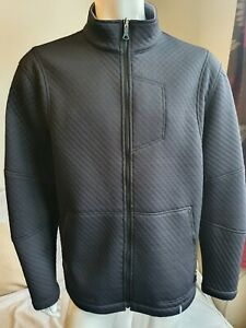 ROHAN Men's Black Textured Soft Shell Coat Size XL  Airspace Jacket