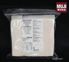 MUJI Japanese Organic 100% Cotton ECRU Soft Pad 180 sheets Unbleached Vape Wick