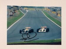 Nigel Mansel Hand Signed Photo