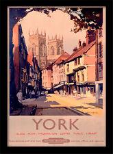 York dal British Rail-incorniciato 30 x 40 Stampa Ufficiale