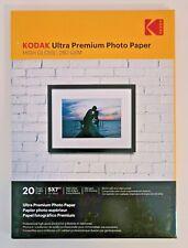 "KODAK 5"" x 7"" ULTRA PREMIUM HIGH GLOSS INSTANT DRY 280gsm PHOTO PAPER -20 SHEETS"
