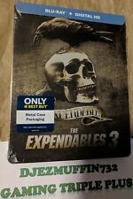 EXPENDABLES 3 BLU-RAY STEELBOOK + DIGITAL HD
