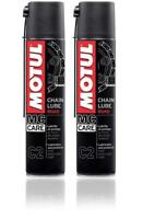 MOTUL C2 CHAIN ROAD Grasso Lubrificante Spray Catena Moto e Kart - 2 x 400ml