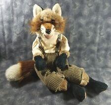 Folkmanis Brer Fox Hand Puppet Plush Retired