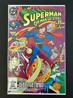 SUPERMAN MAN OF STEEL #15 DC COMICS 1992 NM+