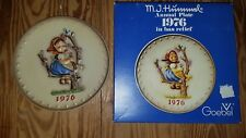 "L@k! Hummel Annual Plate 1976 ""Apple Tree Girl"" New In Box"