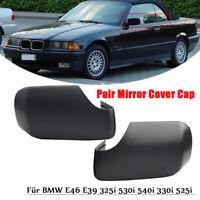 Paar Spiegel Abdeckung Für BMW E46 E39 325i 530i 540i 330i 525i Außenspiegel