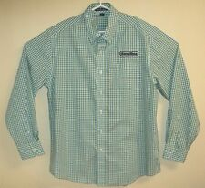 GAME TIME Playcore BRAND NEW Button Down Casual Checked Tapered Shirt L