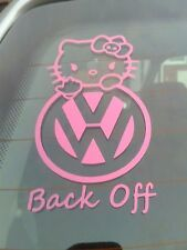 Hello Kitty Pegatina de Coche