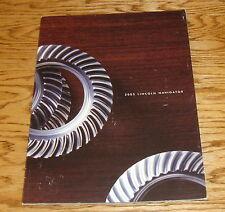 Original 2003 Lincoln Navigator Deluxe Sales Brochure 03