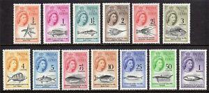 Tristan da Cunha 1961 Marine Life set fine fresh MNH