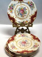6x Royal Albert Porzellan Teller porcelain plate