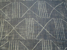 Ralph Lauren Curtain/Upholstery Fabric 'Lagos' Ebony 2.2 METRES 100% Linen