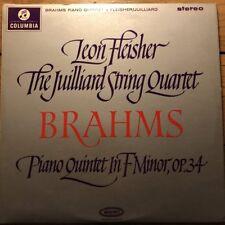SAX 2541 Brahms Piano Quintet / Fleisher / Juilliard Quartet E/R