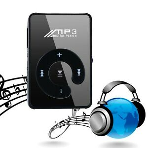 Portable Digital MP3 Player Clip USB Music Play Support 16GB Micro SD TF Card UK