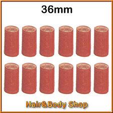 RULOS ADHESIVOS para el cabello 36mm 12pcs LABOR profesional ruleros peluquería