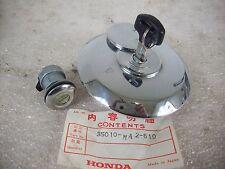 NEU original Honda CBX 1000 SC06 Tankdeckel Sitzbankschloss / Key Set Fuel Cap