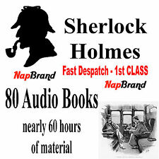 Sherlock Holmes Complete 80 Audiobook Collection  MP3 format DVD