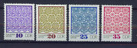 ALEMANIA/RDA EAST GERMANY 1974 MNH SC.1563/66 Plauen lace patterns