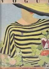 C1 Revue Mode VOGUE 1934 ZEILINGER Horst SCHALL Mac Orlan ERIC