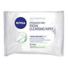 Nivea Visage Facial Wipes Fragrance Free 25