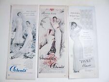 LOT Of 40's 50s VINTAGE Ladies Girdles Bras Slips Lingerie Nylons ADS CLIPPINGS
